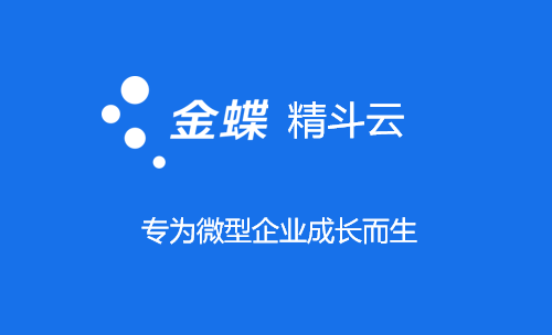 金蝶精斗云,专为微型企业成长而生